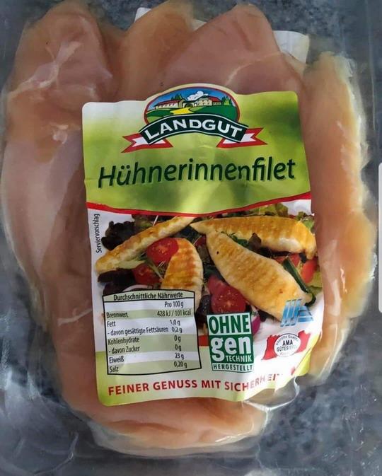 Hühnerinnenfilet